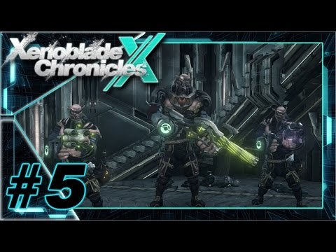 Xenoblade Chronicles X - Ep. 5 - Ch. 3 - Prone Camp + Glennar Boss