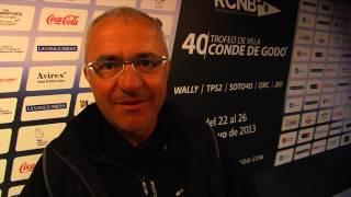Nacho Postigo felicita al Trofeo de Vela Conde de Godó por su aniversario