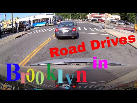 Driving Downtown - Midwood  - Brooklyn - New York - USA