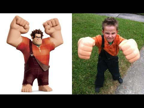 Thumbnail: Wreck It Ralph in Real Life