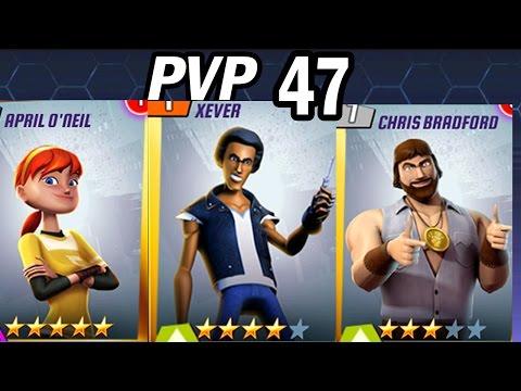 TMNT Legends PVP #47 (Chris Bradford, Xever, April O'neil)