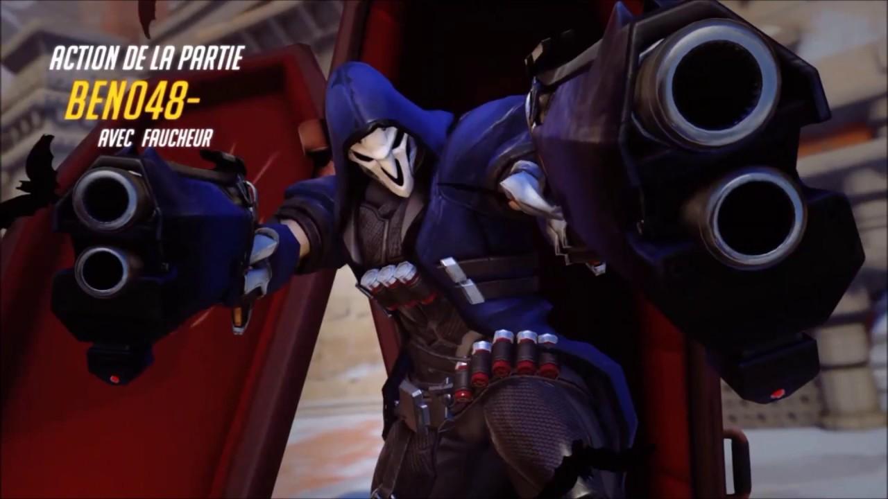 """Download Overwatch - Montage / Reaper """"Déchaîné"""" (version 1)"""
