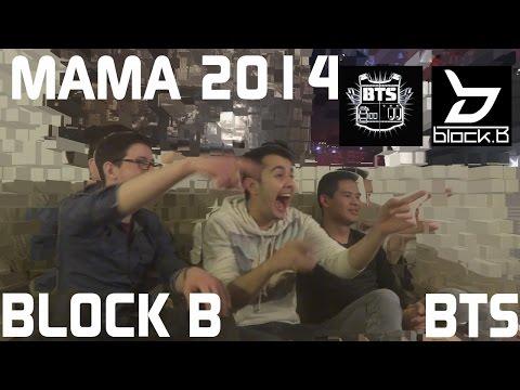 Block B+BTS - MAMA 2014 Live Reaction, Non-Kpop Fan Reaction [HD]