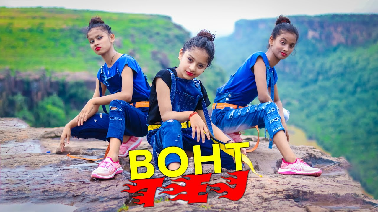 BOHT TEJ | Badshah | Fotty Seven | Dance Cover  video | SD KING CHOREOGRAPHY | NEW  2020
