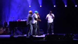 Repeat youtube video Billy Joel & Boyz II Men - The Longest Time (Live At Citizens Bank Park - August 2, 2014)