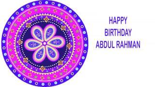 AbdulRahman   Indian Designs - Happy Birthday