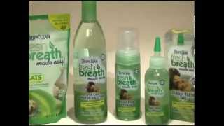 TropiClean Fresh Breath - средства ухода за полостью рта собак и кошек