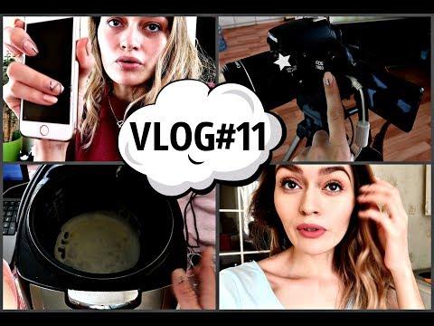 VLOG#11: РАЗБИЛА iPhone 8 / Макияж на 14 февраля не состоялся / На что я снимаю? II AlbiBlog