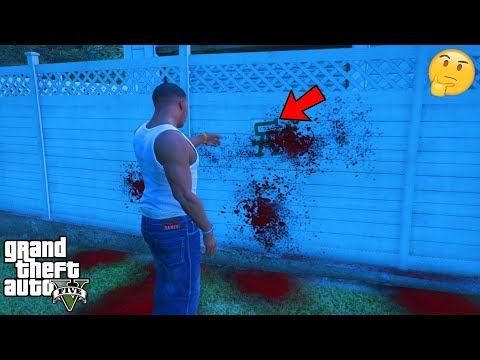 GTA 5 - I Found Some CREEPY Ghost GRAFFITI at The Graveyard (secret)