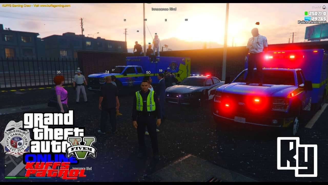 LIVE: GTA 5 vRP/FiveM Server Roleplay