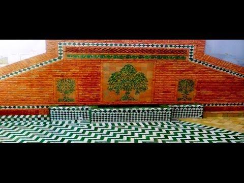 zellige marocain zellige zellige traditionnel zellige de fes zellige de marrakech youtube. Black Bedroom Furniture Sets. Home Design Ideas