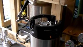 Homebrew Saturday - Corny keg beer tap review