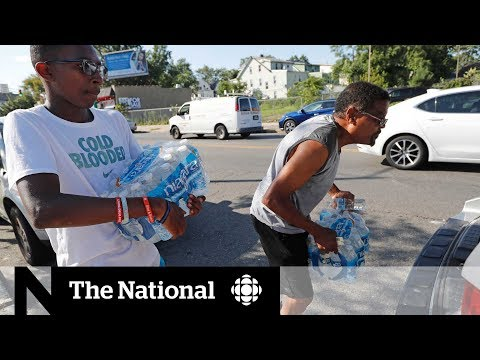Lead contamination in New Jersey drives residents to stock up on bottled water