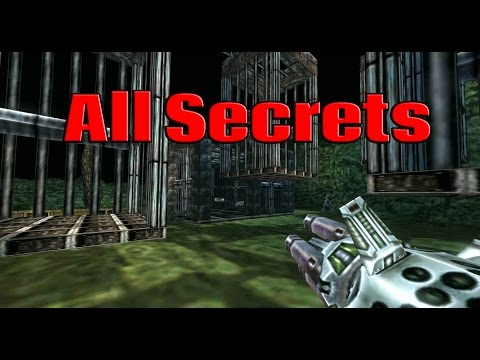 Turok 2 Seeds of Evil Remastered  - All 30 Secrets - Secret Locations