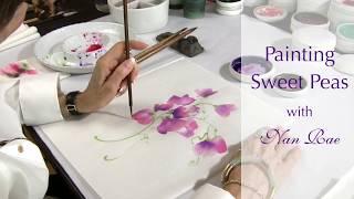 Painting Sweet Peas