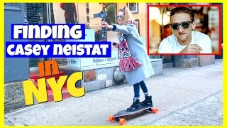 Finding Casey Neistat in New York City
