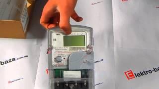 Однофазний багатотарифний лічильник НІК 2102-01.Е2МСТР1 220В (5-60) А