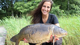 Claudia Darga Carp Fishing in Poland Karpfenangeln in Polen