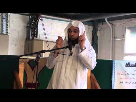 AbdelFattah Rahhaoui khotba 251215 mosquée Al Badr Meaux