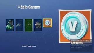 *UNLOCKING* 2,000 FREE V-BUCKS! With NEW Expensive Fortnite Outfit - NVIDIA Bundle 'REFLEX'