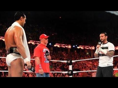 Raw - John Cena and CM Punk demand WWE Championship rematches