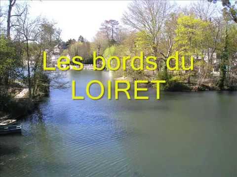 Les bords du Loiret à Olivet