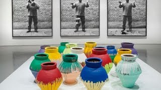 Ai Weiwei brushes off painter