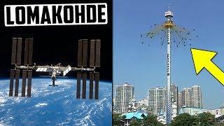 NASA aloittaa turistimatkat avaruuteen! Viraali huvipuistovideo on feikki?