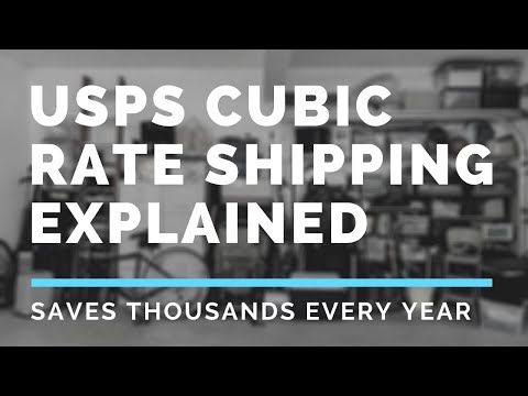 USPS Cubic Rate Shipping Explained [Cheapest Way To Ship]