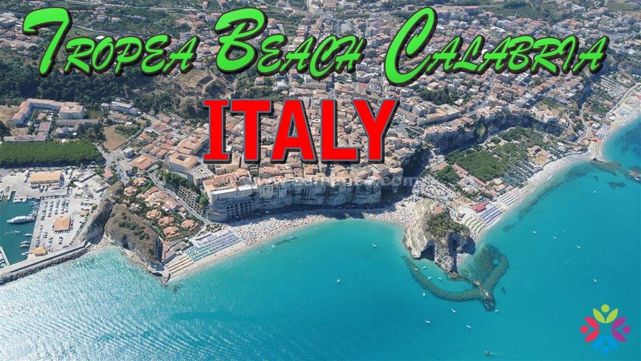 Tropea Beach Calabria Italy