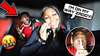 "HIDING In My Girlfriend's CAR While She ""RUNS ERRANDS!"" ** I CAUGHT HER! **"