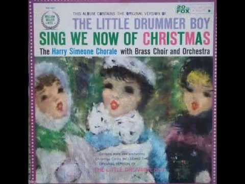 Harry Simeone Chorale - Little Drummer Boy ( 1959 )