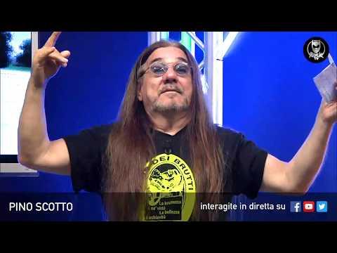 PINO SCOTTO 🔥 LIVE SU ROCK TV 🤘🏻📲 22 MAGGIO 2018