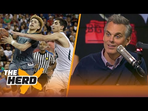 Colin Cowherd reacts to the Ball Brothers ballin' overseas & OKC's struggles | THE HERD