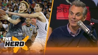 Colin Cowherd reacts to the Ball Brothers ballin