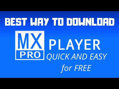 How to install mx player Pro for free (fast and easy)