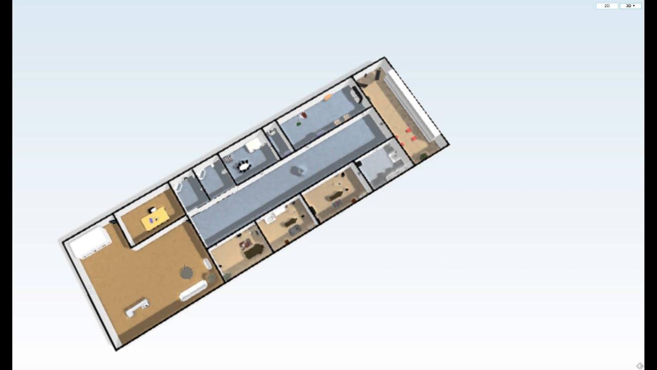 Planos cabina y centro de estetica youtube - Centros de estetica ...