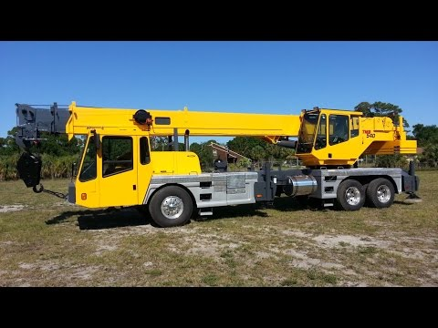 1999 GROVE TMS540 40 TON CRANE FOR SALE, ROYAL FL.