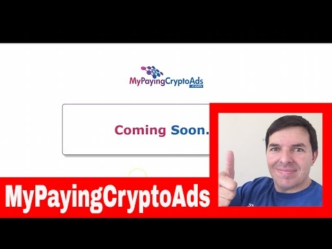MyPayingCryptoAds Why I am joining MPCA by Colin Brazendale 26 Oct