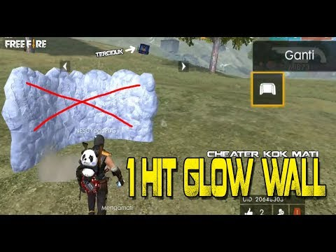 TERCIDUK CHEATER ONE HIT GLOW WALL - GARENA FREE FIRE thumbnail