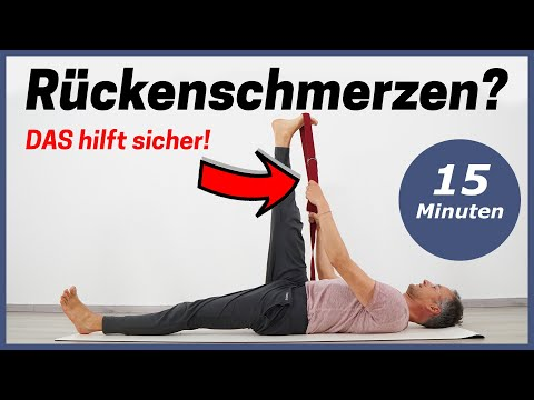 Piriformis dehnen 3 Yoga Übungen gegen Rückenschmerz..