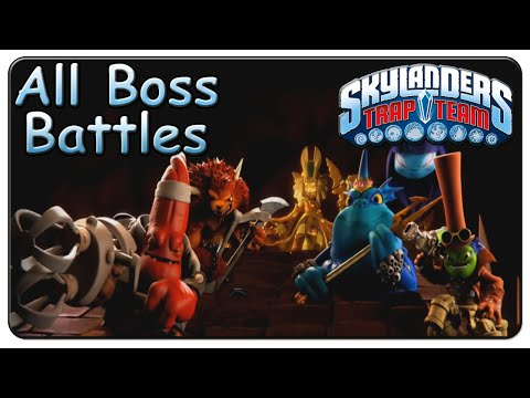 Skylanders: Trap Team - Doom Raiders Cutscenes + Captur ...