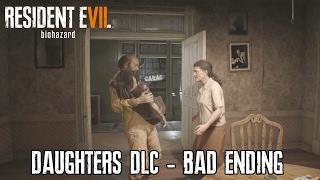 resident evil 7 banned footage dlc daughters dlc bad ending gameplay walkthrough
