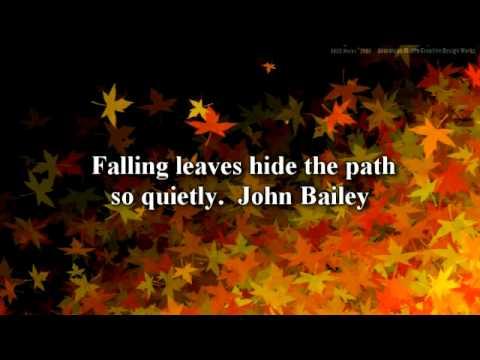 Autumn Quotes Inspirational Inspirational Autumn Quotes   YouTube Autumn Quotes Inspirational