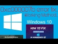 How To Fix (0x000007b) Error In Windows 10/8.1/8/7 Working Method (Solved )
