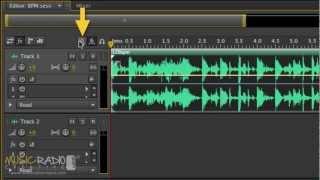 Adobe autdition метроном туторіал (як змінити темп)