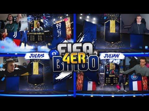 FIFA 19: QUATTRO TOTY Fifa Bingo 💙😍 #TOTYGANG