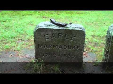 The Mystery of Spider Gates Cemetery (Leicester, MA)---in Fabulous HD-----