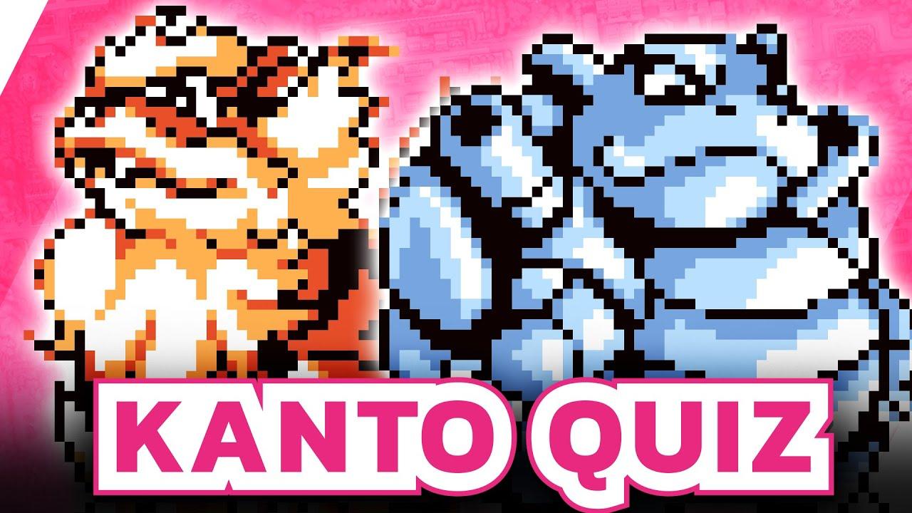 Wer kann mehr Kanto Pokémon erraten? - Pokémon Quiz