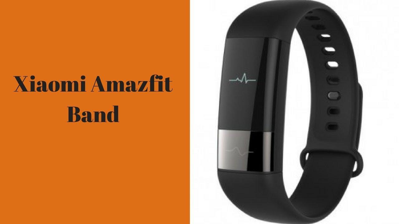 Xiaomi Amazfit Smartband Unboxing Review Youtube
